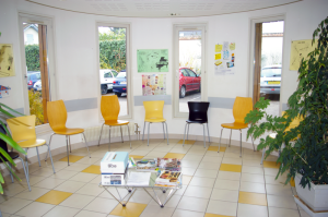 CMP-CATTP Auxerre, salle d'attente