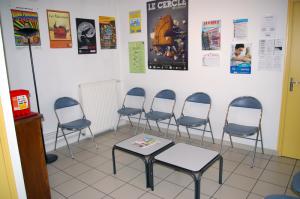 CASA d'Auxerre, salle d'attente